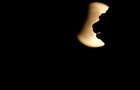 The moon is seen during a partial lunar eclipse over the Winged Lion of Venice at the St. Mark square in Venice, Italy on July 16, 2019. — Reuters