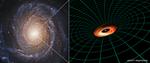 Hubble telescope finds mysterious black hole disc