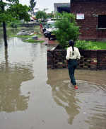 School turns into pond, kids at risk