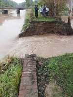 Canal breaches flood 250-acre paddy fields