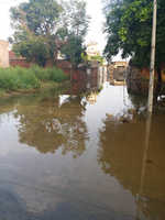 Downpour inundates 3 wards in Khamano