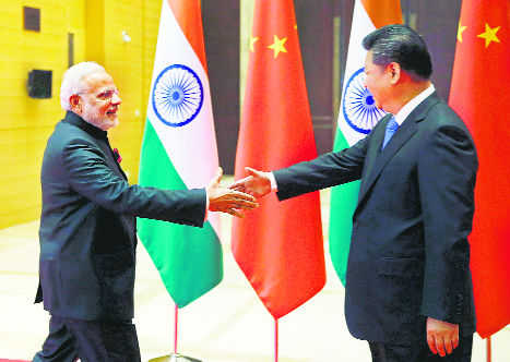 Bumps in ties with China