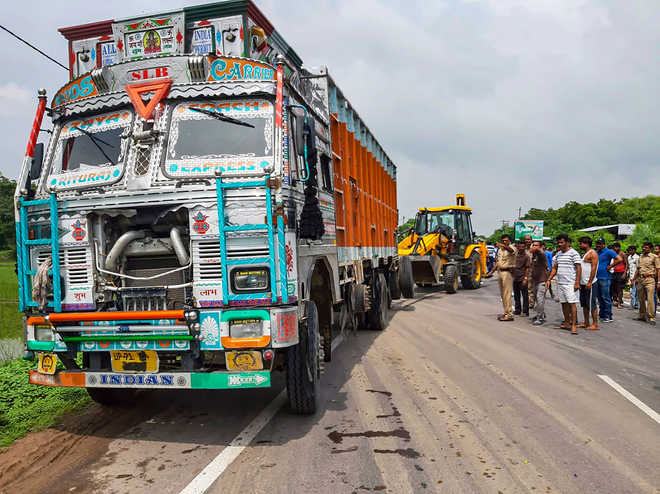 New twist to Unnao truck collision, why number plate was blackened