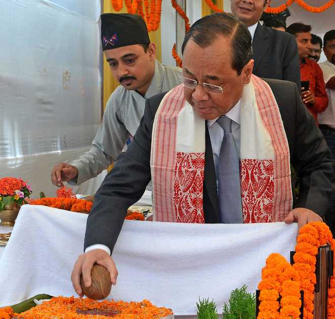 Witnessing belligerent behaviour by few individuals, groups: CJI Gogoi