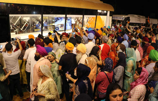 Sikhs welcomes int'l nagar kirtan