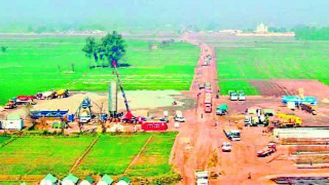 'Goonda tax' on sand, gravel jams work on corridor