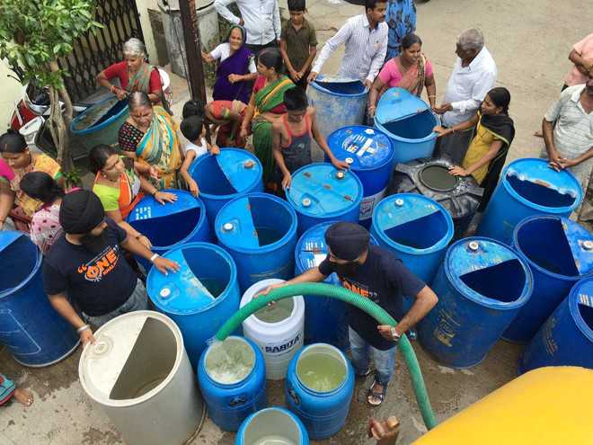 Parts of Maha still parched, fight for water on