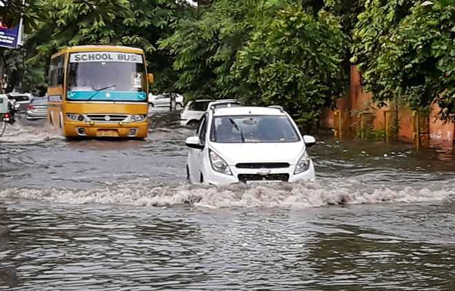 One downpour, and Panipat submerged
