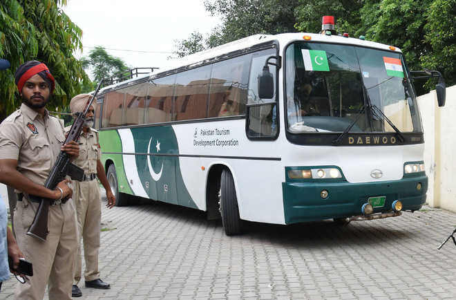 Amritsar Lahore Bus Returns Empty Likely To Be Grounded