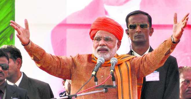 Modi delivers on his Jammu 'lalkar'
