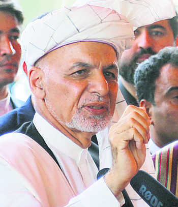 Ghani rejects foreign interference as talks advance