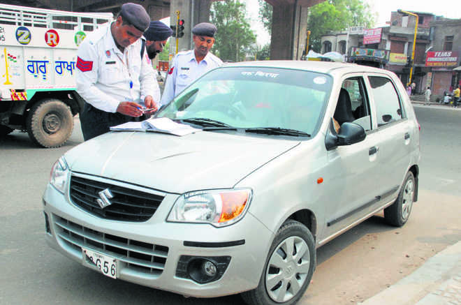 Soon, pay on the spot for traffic challan