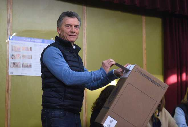 Argentina opposition on way to defeating Macri in primary after major upset