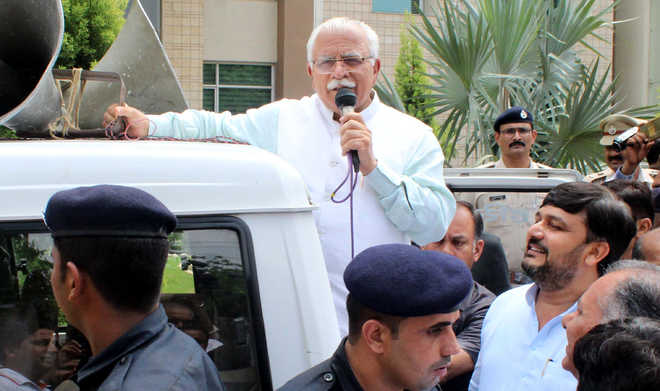 Khattar to sound poll bugle from Kalka on August 18