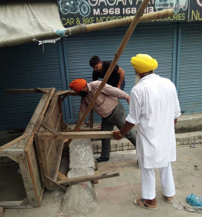 Anti-encroachment drive goes on