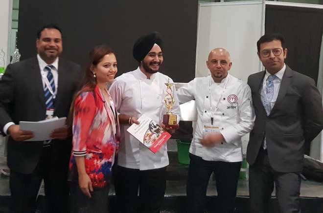 City chef bags gold at int'l event