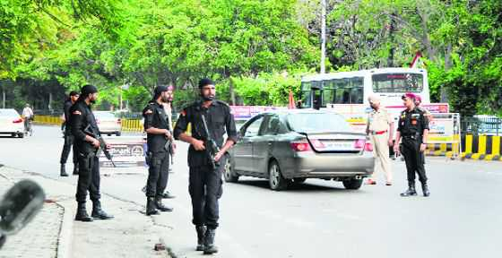 Police beef up security in city