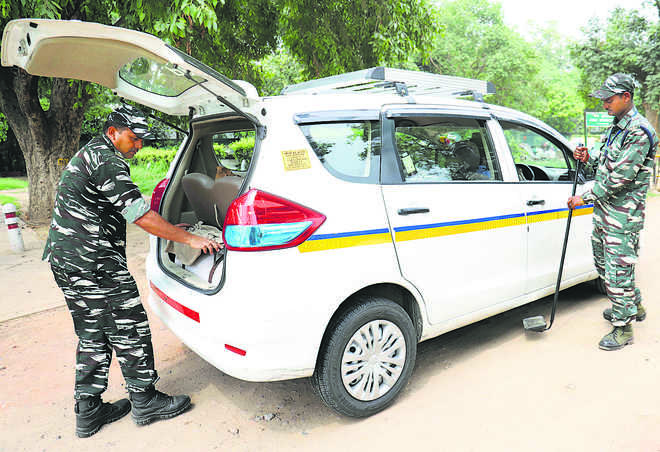 Security beefed up in Capital ahead of I-Day