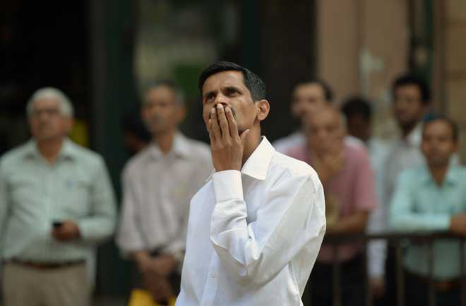 Sensex crashes over 600 points amid global market turmoil