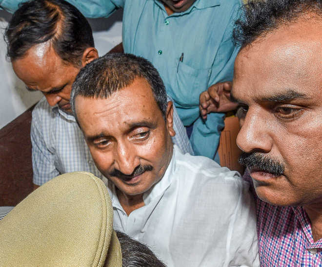 Sengar, others charged with murder of Unnao rape survivor''s father