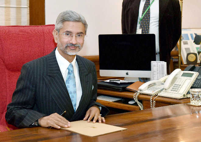 Jaishankar in China