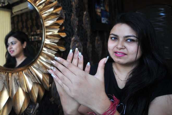 Nail artist carves niche for herself