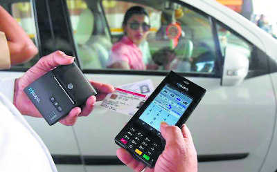 On-the-spot payment of traffic challans soon