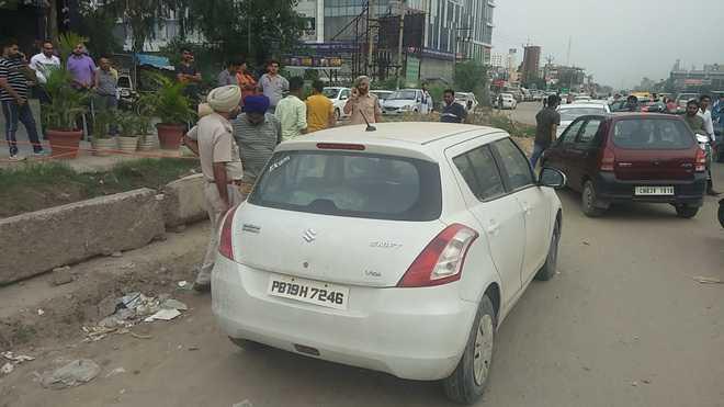 Man found dead in car at Zirakpur