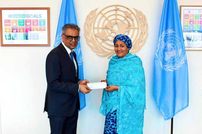 India contributes $1 million to UN Special Purpose Trust Fund