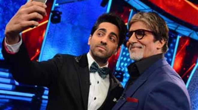 Amitabh Bachchan, Jaya send notes to National Awardees Vicky, Ayushmann