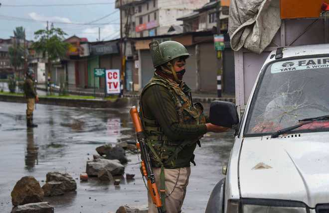 Restrictions in Jammu lifted; curbs to continue in parts of Kashmir