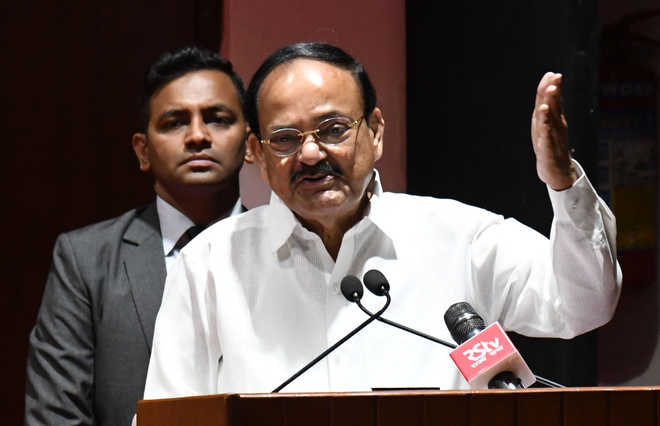 Avoid 'partisanship' on issues of national importance: V-P Naidu