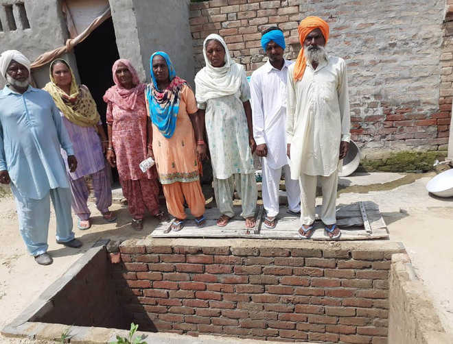Work on toilets stalled at Bhokhra village for want of funds