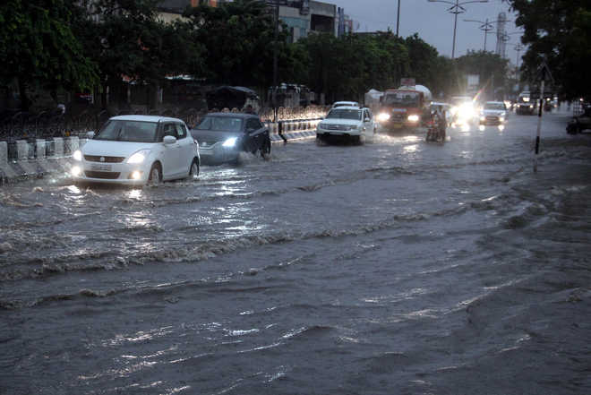 Torrential rain lashes northern states; alert sounded in Punjab