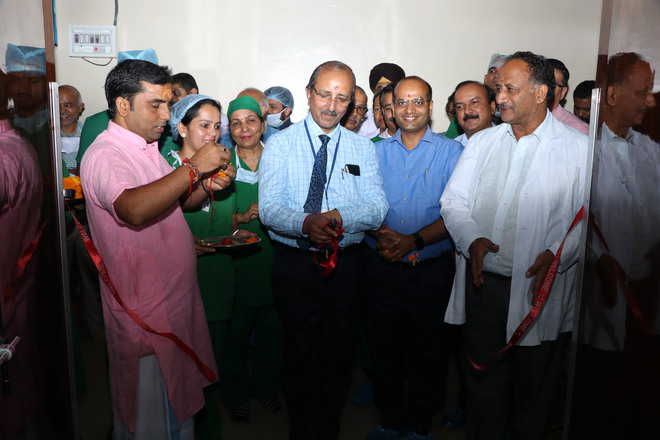 Institute Director opens another cath laboratory