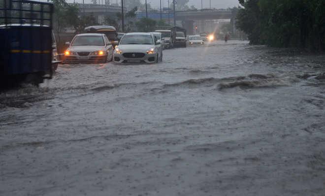 Despite rain alert, city knee deep in water