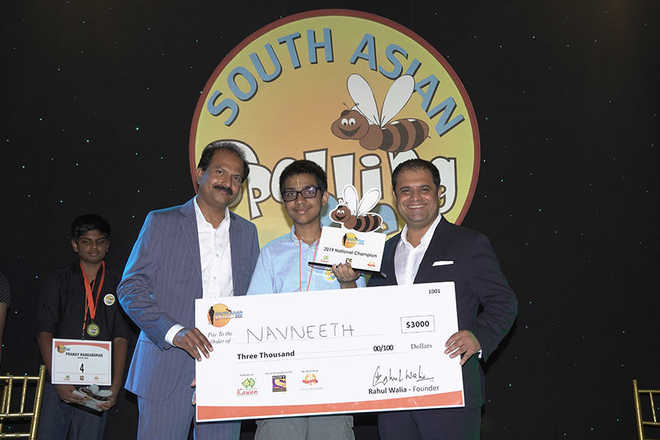 Indian-American teen wins 2019 South Asian Spelling Bee contest