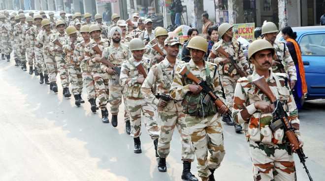 Retirement age for all paramilitary personnel fixed at 60