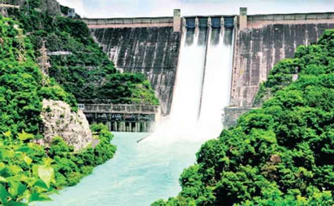 Bhakra reservoir full, more discharge on way
