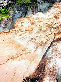 Silt chokes water sources; Shimla in crisis