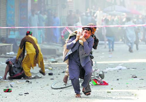 66 injured in serial blasts in Afghan city