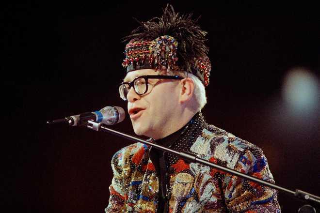 Elton John blasts ''relentless'' character assassination of Harry and Meghan