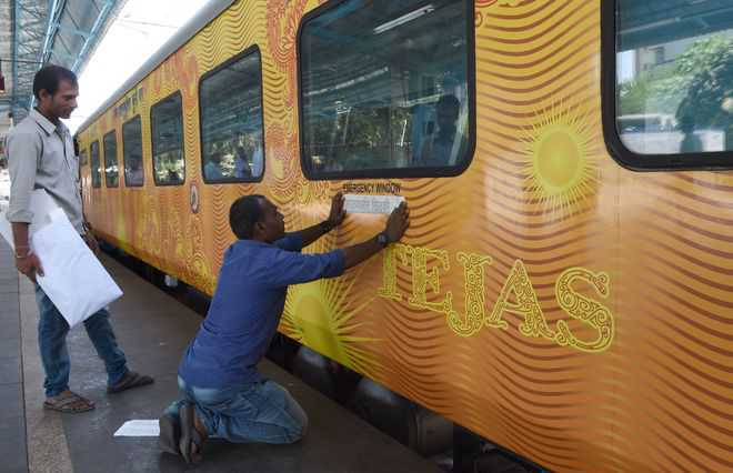 Railways to hand over operations of 2 Tejas trains to IRCTC