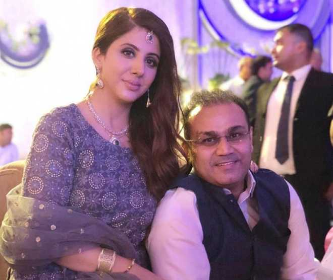 Virender Sehwag post on 'good life with wonderful wife' goes viral