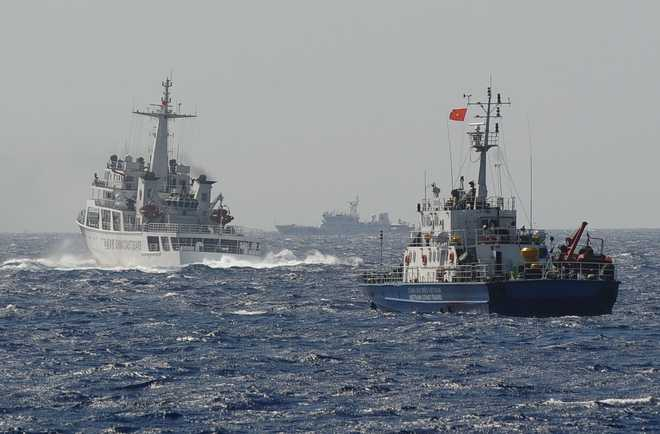 Beijing stations two Coast Guard ships near Indian oil block in South China Sea