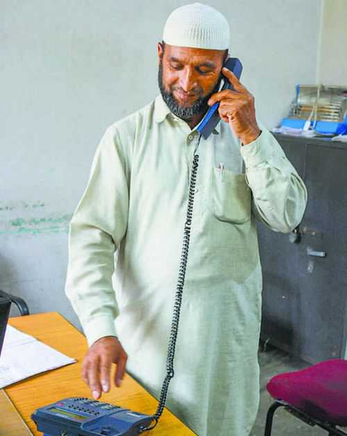 Kashmir's central phone exchange remains shut