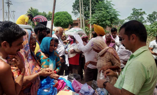 Help pours in for flood-hit in Ropar