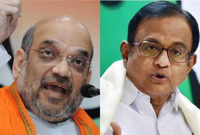 In 10 years, role reversal for Shah, Chidambaram