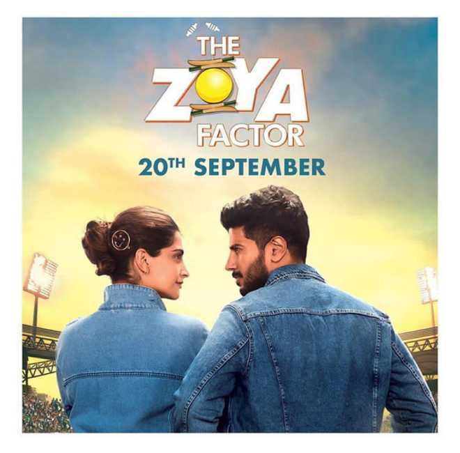 Sonam Kapoor is 'India's lucky charm' in first motion poster of 'The Zoya Factor'