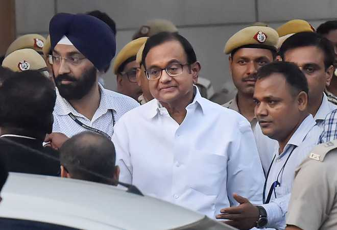 Chidambaram under arrest
